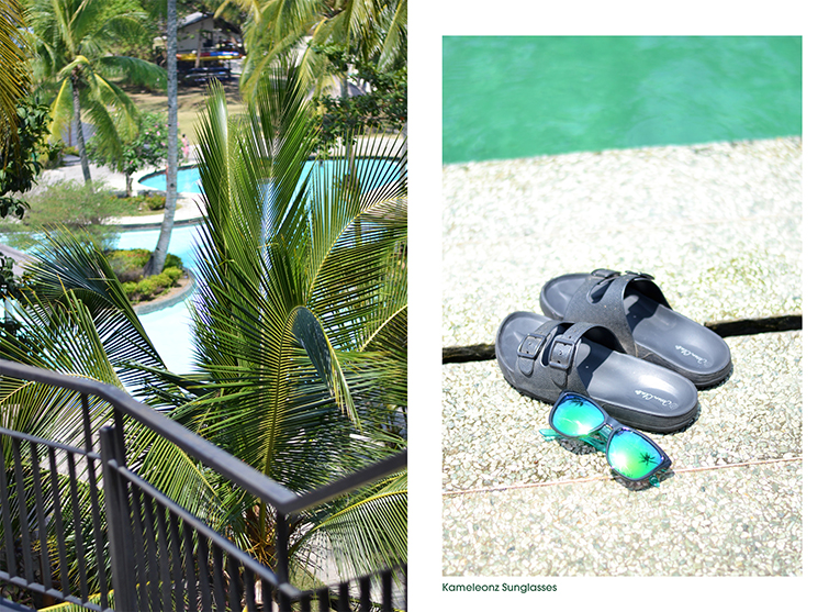 ugly shoes, and kameleonz mirror sunglasses. Swimwear in Batam, Indonesia