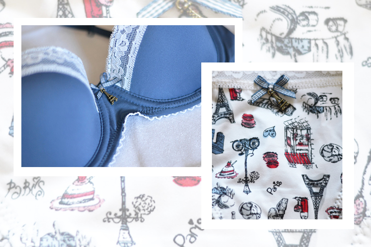 gisela intimates, play collection, underwear set