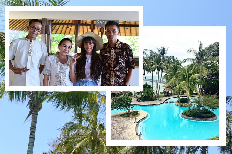 Batam Indonesia,Turi beach Resort, swimming pool