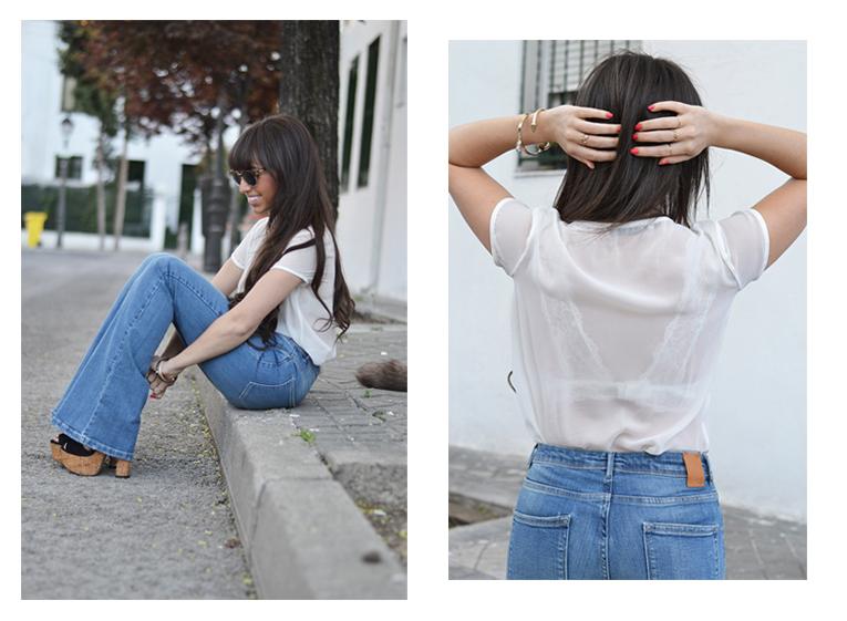 Flared Jeans Wear Wild