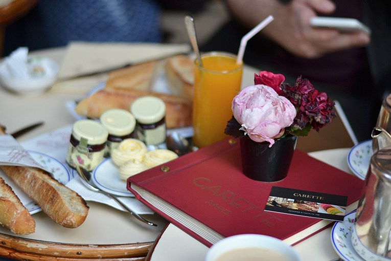 paris, breakfastt, carette