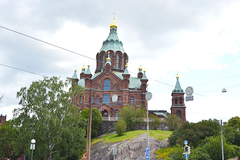 Visit Finland, Helsinki, Ortodox Cathedral, Uspenski