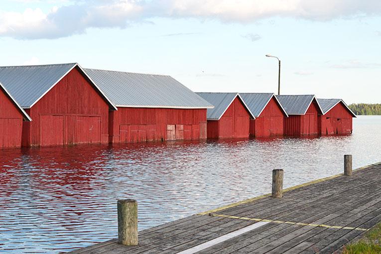 Finland, Savonlinna, Kerimaki, boat, harbour, lake