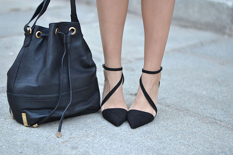 street style, trend, lace up, heels, stilettos