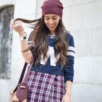 Daniel-Wellington_tartan-skirt_letter-top-beanie_marsala_street-style_01-1.jpg-1