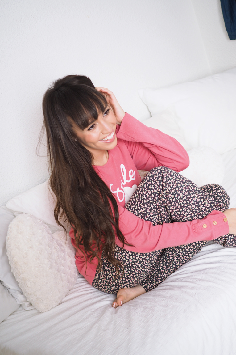 Gisela intimates, pijama, homewear, outfit of the night, pink, floral print