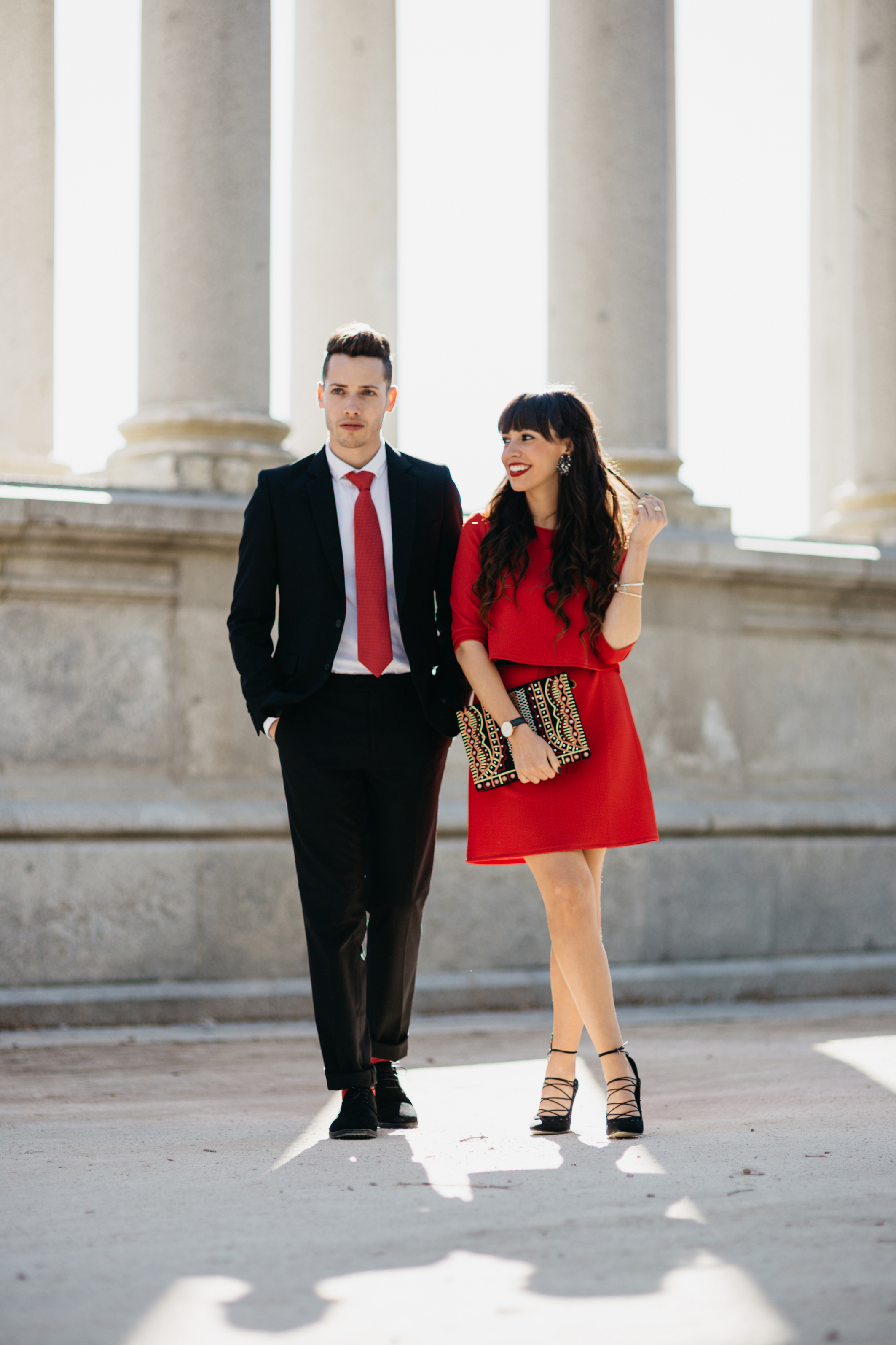 We say oui, fashion film, La Redoute, couple street style, dress up