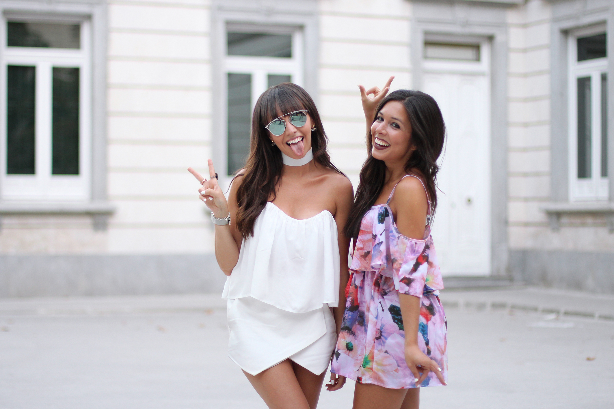 street style, bloggers friends, couple, summer outfit