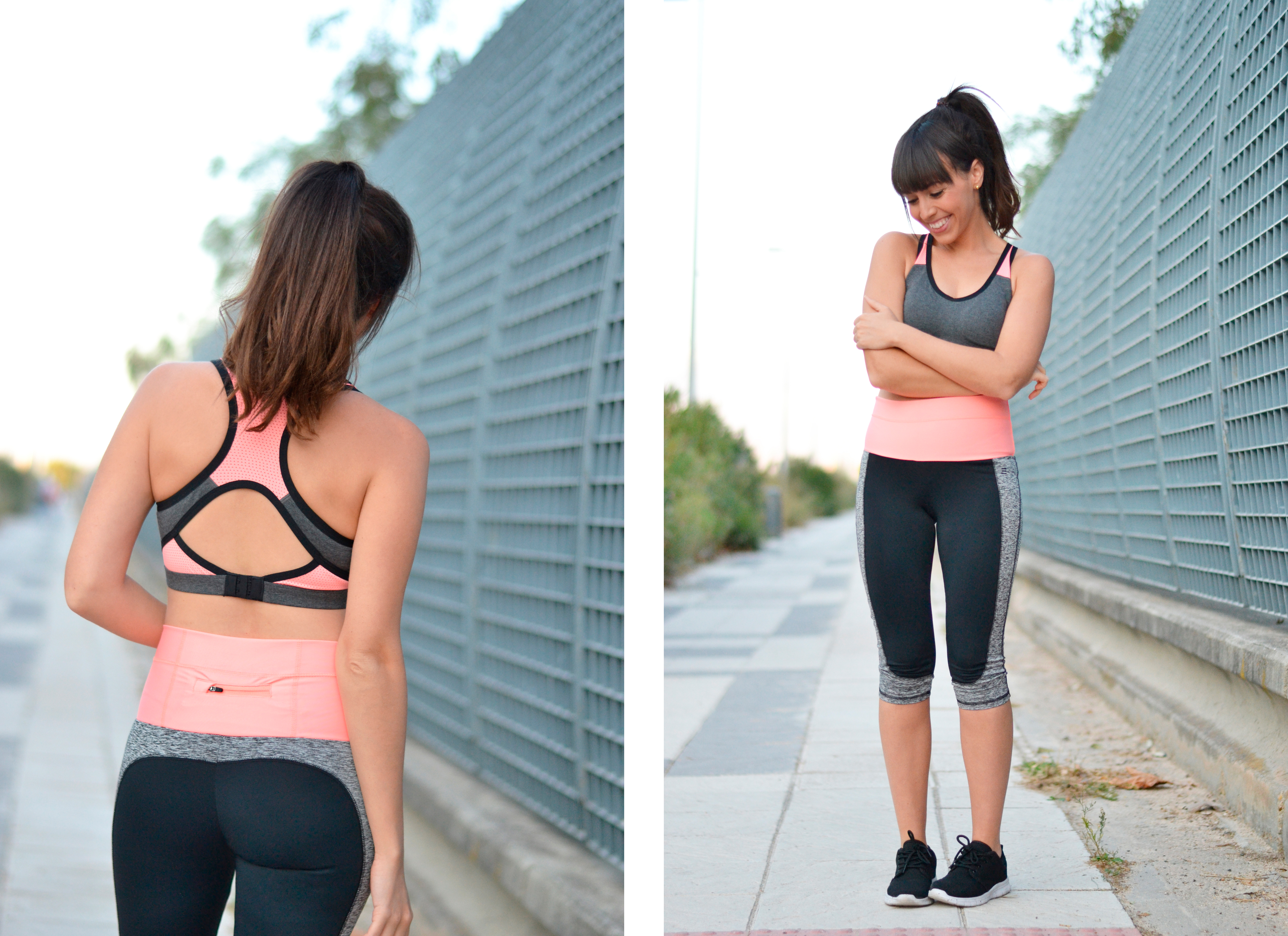 Sport wear, sporty outfit, gisela move, street style,