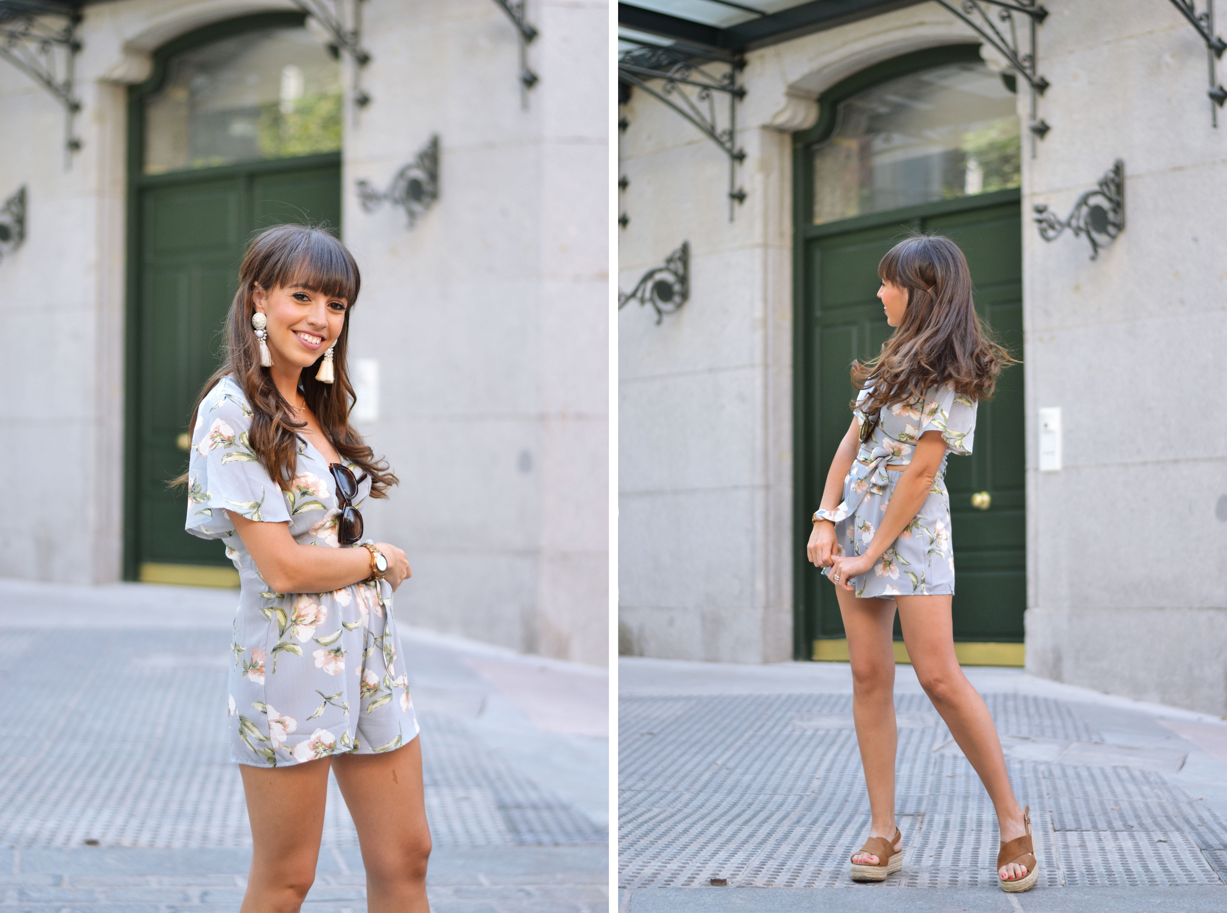 Floral Co-ord, summer outfit, matchy-matchy, floral print, street style, wearwild