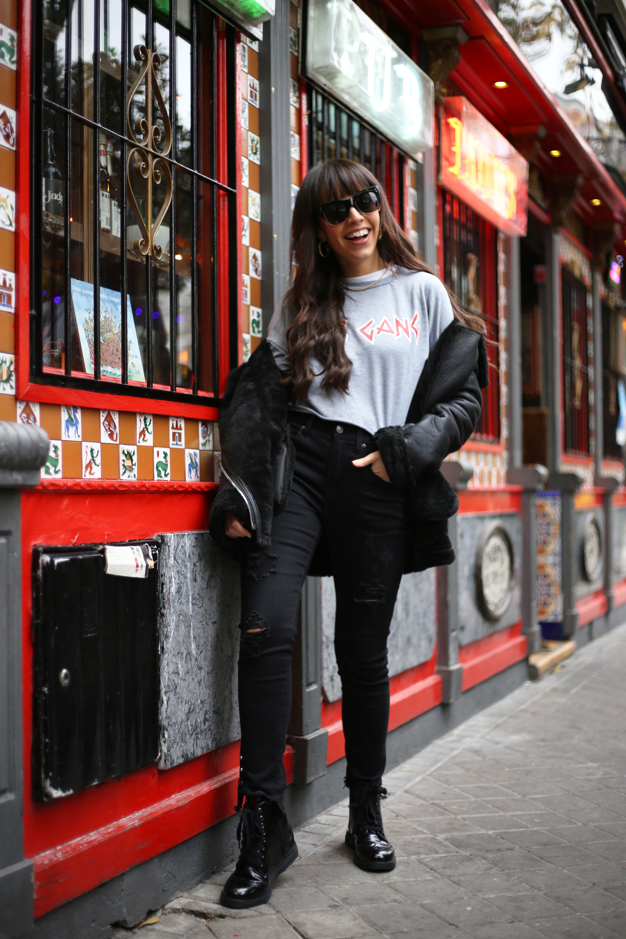 girl power, girl gang outfit, winter outfit, street style