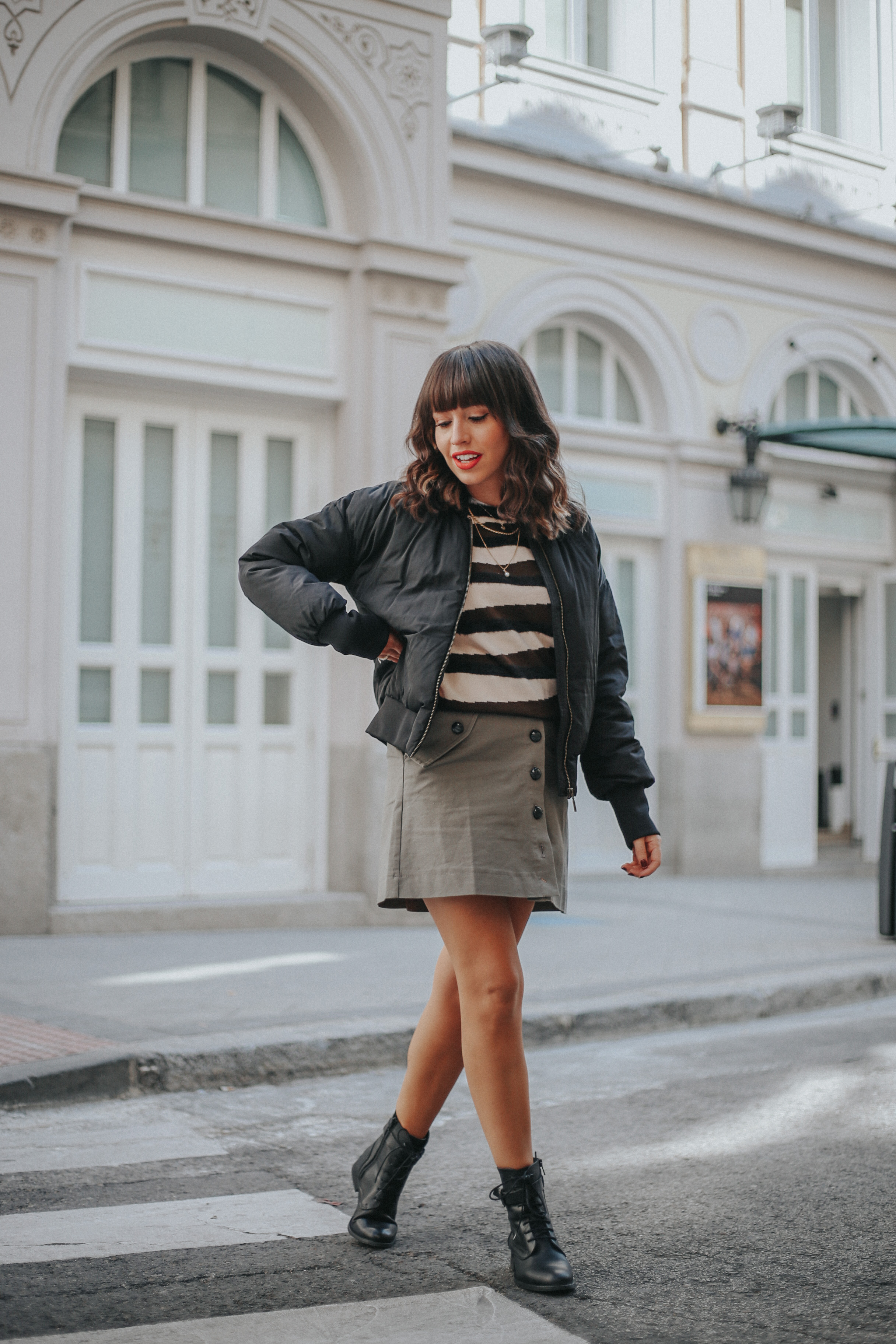 La Redoute, Otoño invierno, abrigo acolchado, animal print